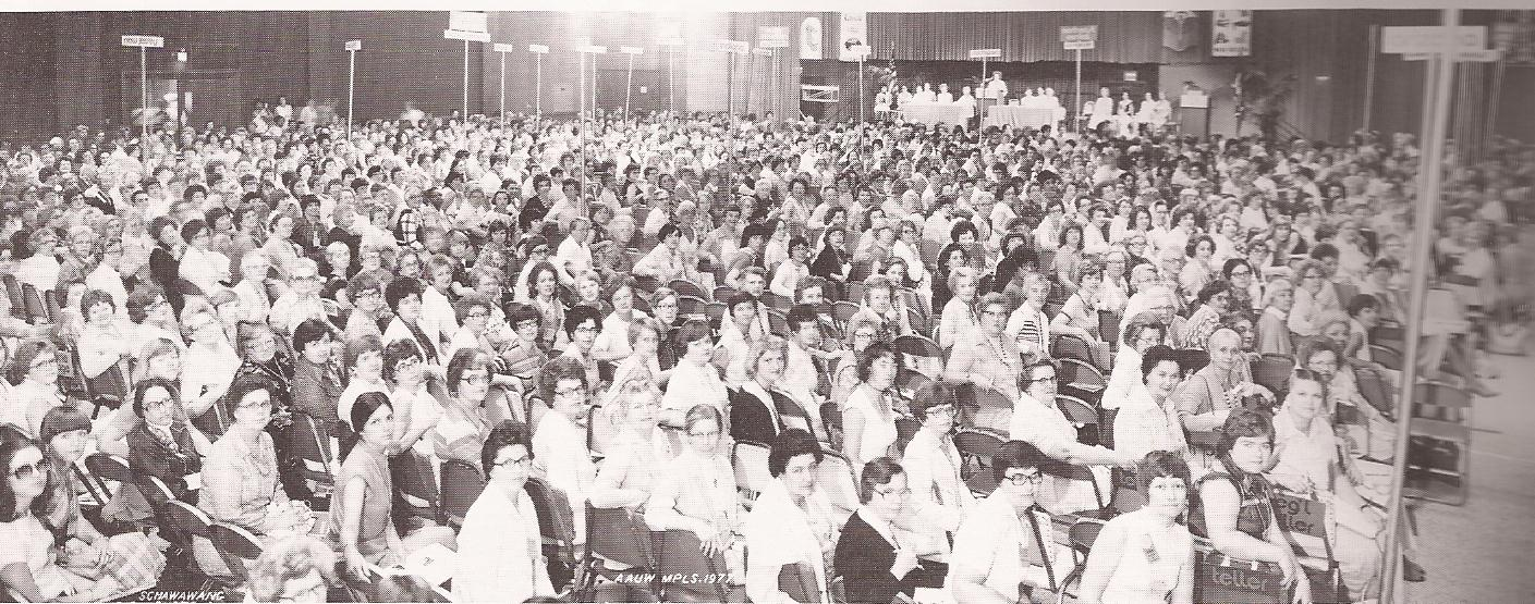 North Dakota Division delegates to the National Convention in Minneapolis, MN, June 1977.